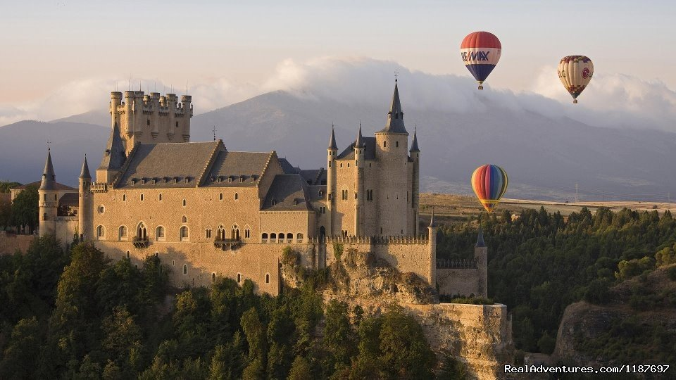 Alcazar de Segovia | Image #2/11 | Hot-air Balloon Rides in Madrid & Segovia, Spain