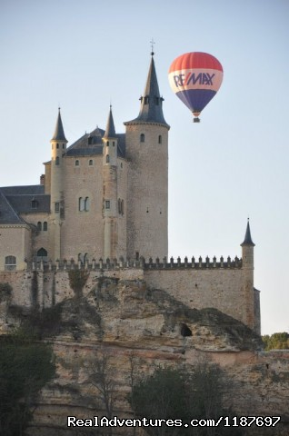 Segovia's Alcazar - Hot-air Balloon Rides in Madrid & Segovia, Spain