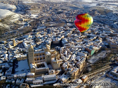 Segovia Winter flight - Hot-air Balloon Rides in Madrid & Segovia, Spain