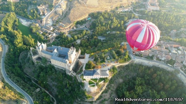 Hot-air Balloon Rides in Madrid & Segovia, Spain