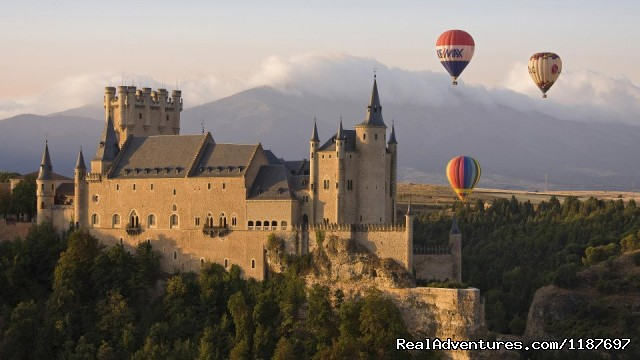 Alcazar de Segovia - Hot-air Balloon Rides in Madrid & Segovia, Spain