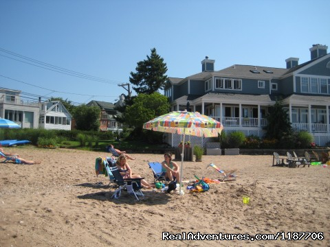 Beach - Ennis Cottage with private beach for weekly rental