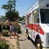 Ice Cream truck comes