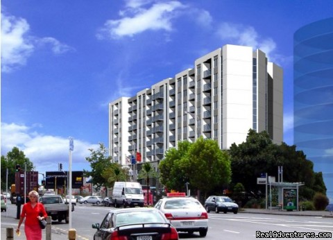 Central Auckland water front location - Stadium Waldorf Apartments Hotel Auckland