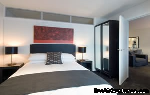 spacious modern bedrooms (#8 of 22) - Stadium Waldorf Apartments Hotel Auckland