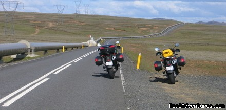 Motorcycle adventure in Iceland
