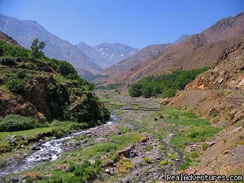 entry to Imlil, gree in summer - Overnight Treks in the Atlas Mountains - Morocco
