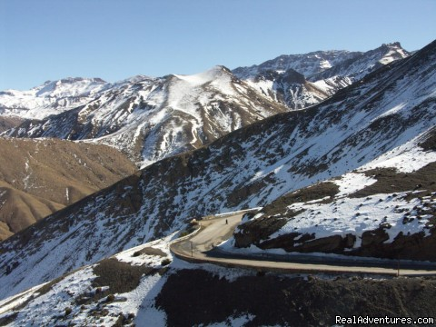 Road to the Atlas Mountains - Overnight Treks in the Atlas Mountains - Morocco