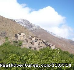 Atlas Mountain -Imlil - Achain village - Overnight Treks in the Atlas Mountains - Morocco