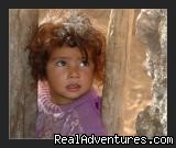 Berber little girl (#6 of 6) - Overnight Treks in the Atlas Mountains - Morocco