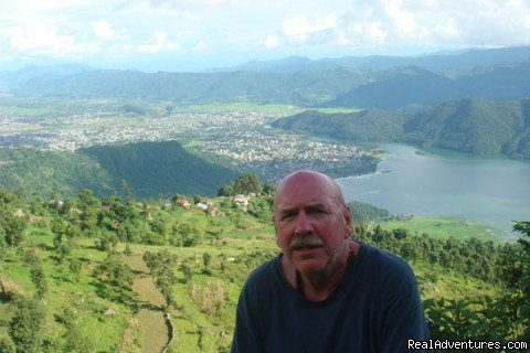 Scott  in Sarangkot | Image #2/4 | Volunteer Plus Adventure in Nepal
