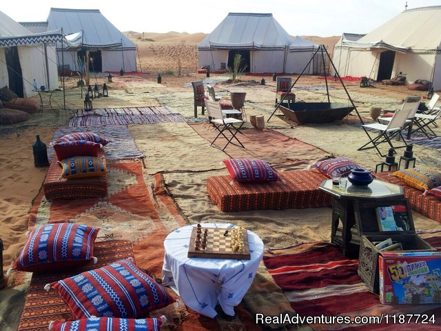 Desert Luxury Camp - Your Morocco Tour