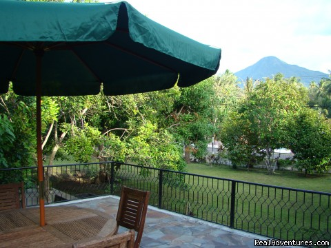 Cozy villa in village which you can see Mt Klabat : Cozy villa which you can see Mt Klabat