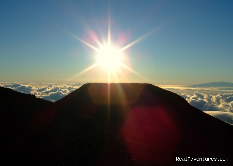 Sunrise at Mt Haleakala - Maui Condo,Sandy Beach,Oceanfront Vacation Rental