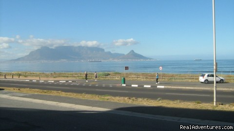 Holiday Accommodation Cape Town -Table View- SA: View of Table Mountain