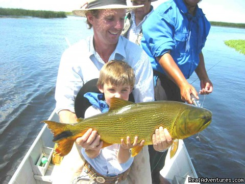 Families - Golden Dorado Experience - Argentina Fishing Expeditions