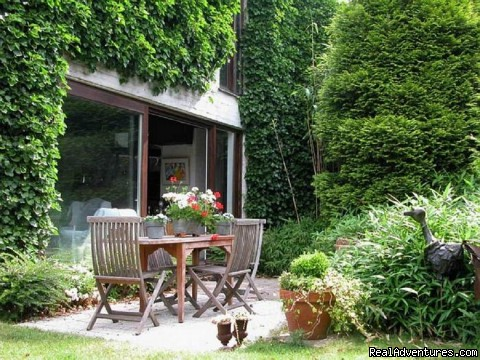 garden - Romantic B & B between Ghent - Bruges and Antwerp