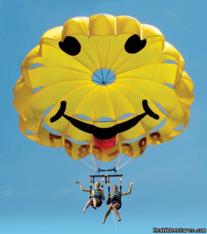 Parasailing In Historic Cape May, N.J. with E.C.P