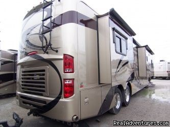 Tiffin Phaeton - Luxury and Economy RV Rentals in Nashville, TN