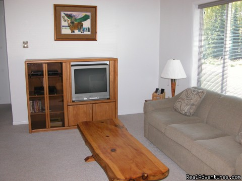Livingroom at Skyline South (#1 of 3) - Alaska's Skyline Accommodations in Soldotna