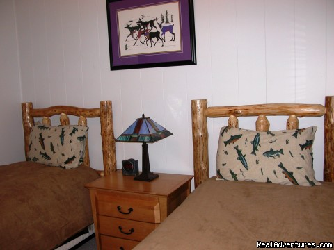 One of two Bedrooms at Skyline South - Alaska's Skyline Accommodations in Soldotna