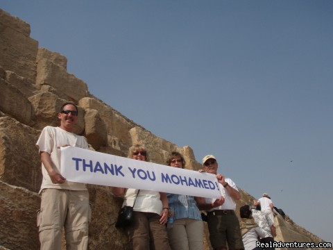 Very Happy Clients - No one knows Egypt Like us