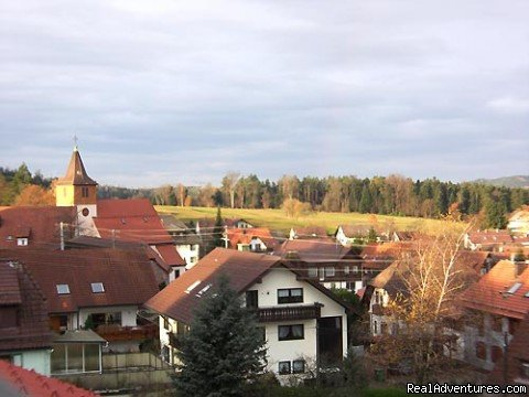 Gasthof zur Linde - View from Single Room | Image #3/8 | Gasthof zur Linde ...your cosy Guesthouse in Dobel