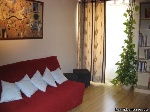 Living room - More Holidays Less Money with Alis Ubbo Apartments