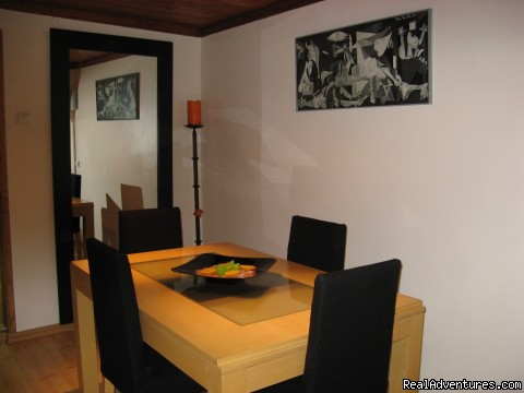 Dinning Room - More Holidays Less Money with Alis Ubbo Apartments