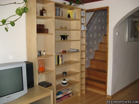Stairs to the bedrooms - More Holidays Less Money with Alis Ubbo Apartments
