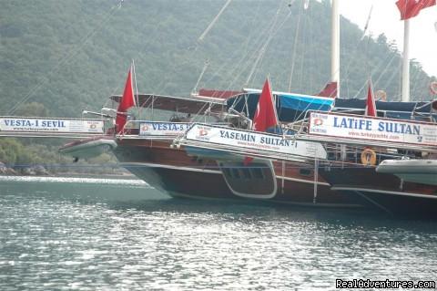 Yacht Charter, Blue Cruise, Gulet Cruise, Yacht Cruise - Tum Tour Gulet Motor Yacht Charter & Blue Cruise