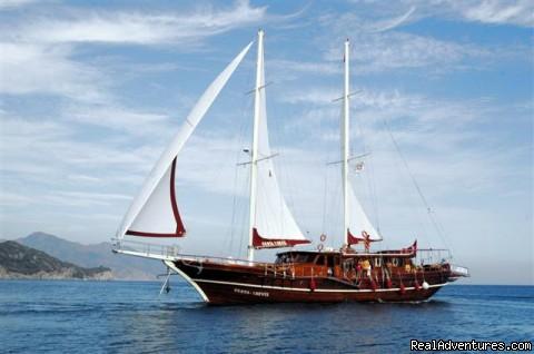 Yacht Charter, Blue Cruise, Gulet Cruise, Yacht Cruise (#3 of 24) - Tum Tour Gulet Motor Yacht Charter & Blue Cruise