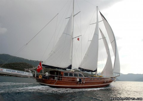 Yacht Charter, Blue Cruise, Gulet Cruise, Yacht Cruise (#4 of 24) - Tum Tour Gulet Motor Yacht Charter & Blue Cruise
