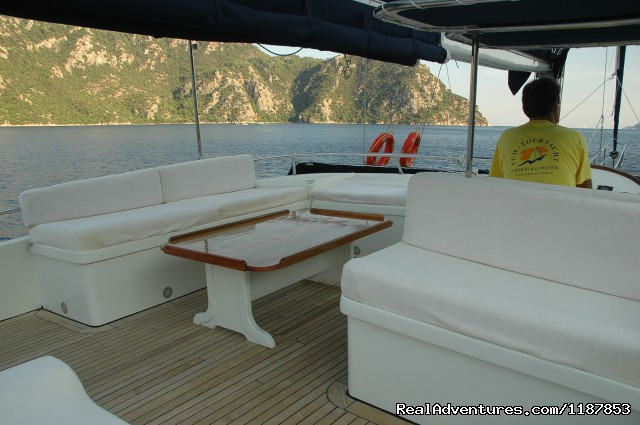 Turkey Mediterranean Holidays Mediterranean Yachting Motor (#13 of 24) - Tum Tour Gulet Motor Yacht Charter & Blue Cruise