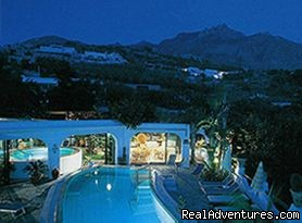 Pools by night - Apartments in a Botanical Garden, Ischia (Amalfi)