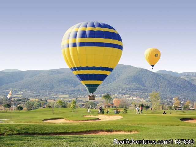 Balloon near Barcelona (#10 of 21) - Hot air balloon flights from Barcelona, Spain