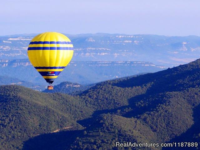 Hot air balloon flights from Barcelona, Spain, Barcelona
