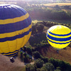 Balloon flight at take off from Cardedeu