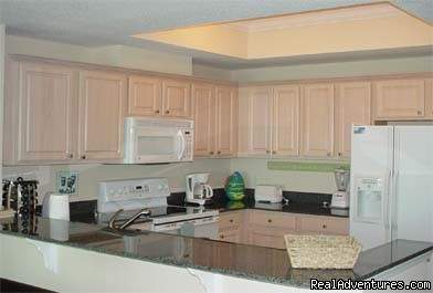 Kitchen (#5 of 10) - Gulf Shores, AL&Direct Gulf Front NEW 2/2 sleeps 6