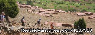 - trekking in Toubkal
