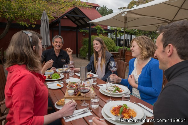 Gibbston Valley Winery Lunch - Queenstown Wine Trail - wine tours New Zealand