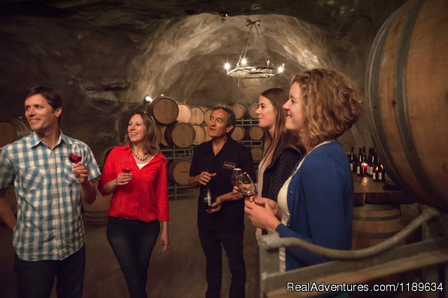 Underground Wine Cave - Queenstown Wine Trail - wine tours New Zealand
