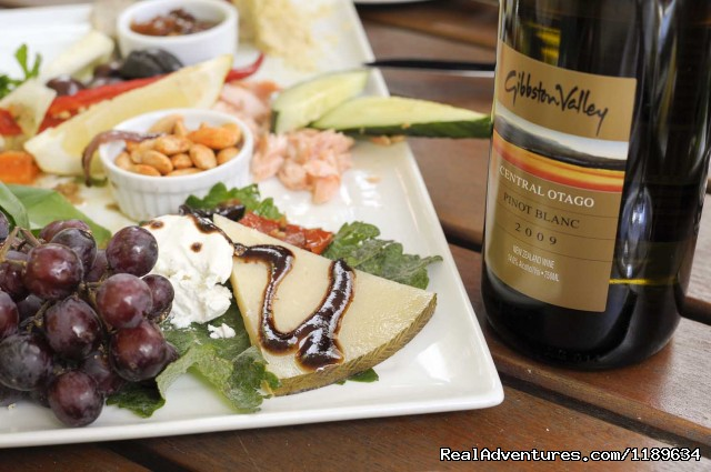 Wine Platters And Food (#4 of 5) - Queenstown Wine Trail - wine tours New Zealand