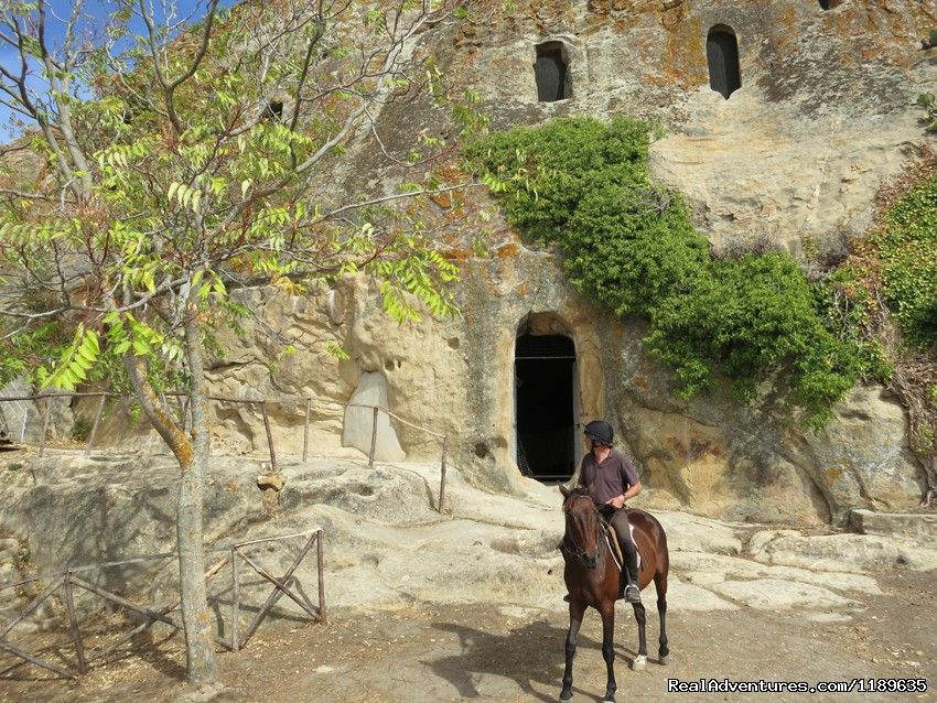 Riding to the pre-historic Gurfa caves