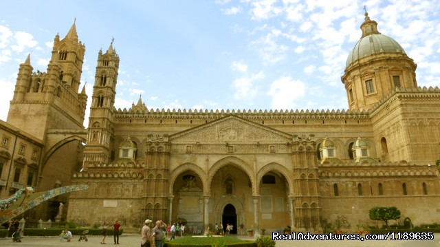 Palermo - The Cathedral - Sicily - Horse Riding and Activity Holidays