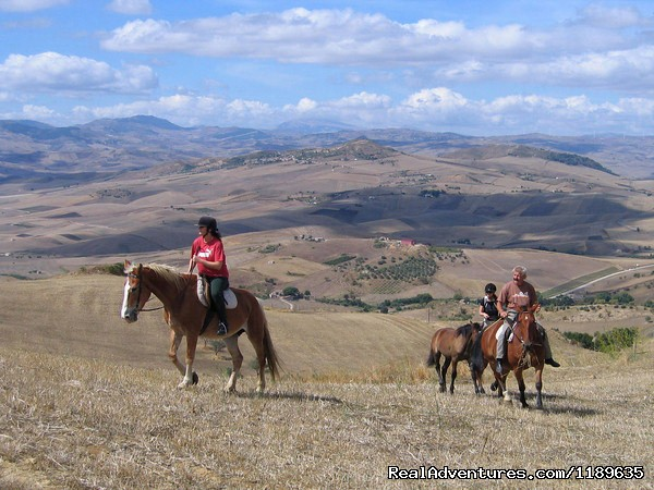 One of our rides (#14 of 21) - Sicily - Horse Riding Vacations (British run)