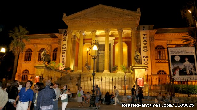 Massimo theatre in Palermo - Sicily - Horse Riding and Activity Holidays