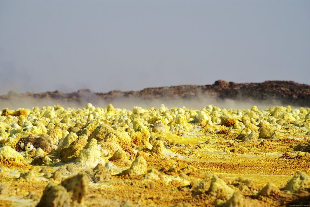 Dallol, fumaroles | Image #13/17 | Tours in Ethiopia ..The right way