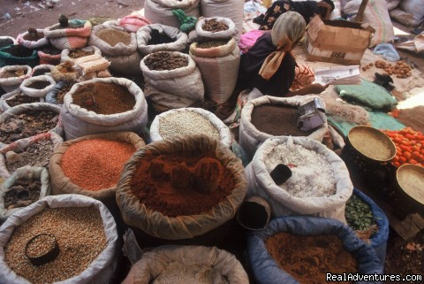 Harar city spice market - Tours in Ethiopia ..The right way