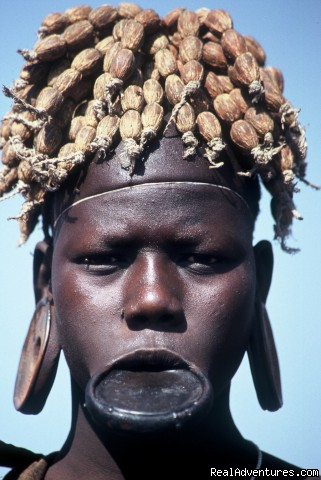 The Mursi - Omo valley - Tours in Ethiopia ..The right way
